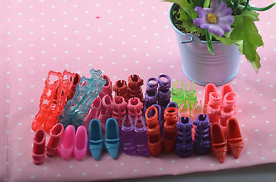 new mix 40pcs=20 Pairs Barbie clothes Accessories sexy shoes *y87