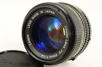 Canon New FD 50mm f/1.4 Lens -Excellent 20409