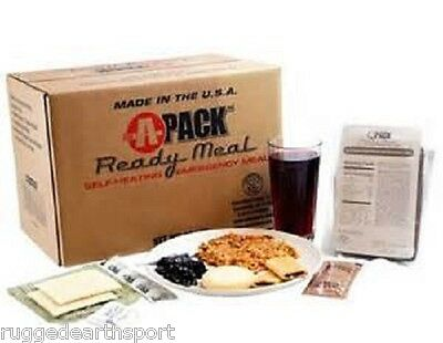 Case of 12 MRE Meals Ready To Eat A-Pack Camping Military Survival Prepper Food