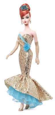 Happy New Year Barbie Doll 2013 BFC Exclusive! NRFB! Holiday Hostess Collection!