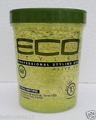 ECO Professional Olive Oil Styling Gel Maximum Hold For All Hair Types 946ml