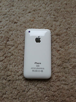 Apple iphone 3gs 16GB ( factory  unlocked ) white AT&T-T-Mobile