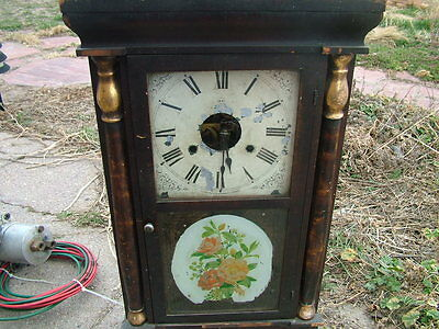 Seth Thomas wood mantle clock works antique vintage retro