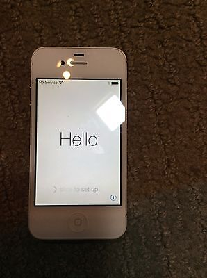 Apple iPhone 4s - 16GB - White (AT&T) Smartphone Clean Esn
