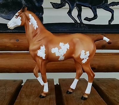 Hartland Polo Pony Dispersal! Chestnut Overo. Limited to 25 pieces! NEAR MINT!