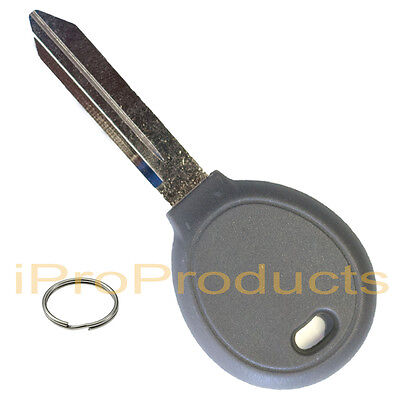 New Uncut Replacement Ignition Transponder Chip Key Car Door + Key Ring by iPro