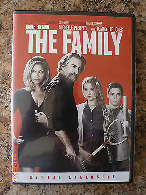 The Family (DVD, 2013) Robert Deniro, Michelle Pfeiffer, Tommy Lee Jones