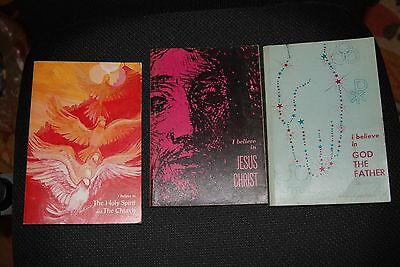 3 books I BELIEVE IN JESUS CHRIST GOD THE FATHER HOLY SPIRIT THE CHURCH LUTHERAN