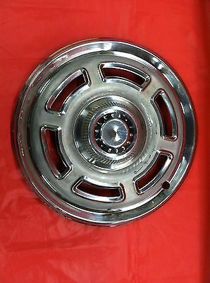 """Vintage 1965–66 Ford Falcon 14"""" Hubcap Good Condition"""