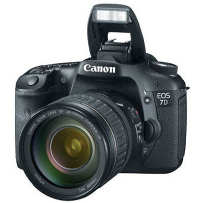 Canon EOS 7D Digital SLR Camera with EF 28-135mm f/3.5-5.6 IS USM Lens #3814B010