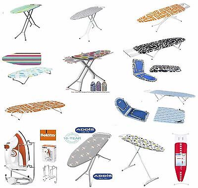 Steel Ironing Boards Large With Legs Table Top / Foldable Iron Board Anti Slip