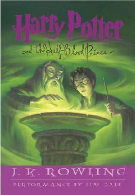 Harry Potter and the Half-Blood Prince Year 6 by J. K. Rowling (2005, CD,...