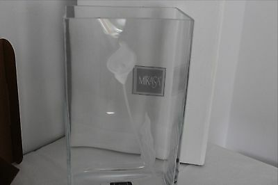 MIKASA Glory Days Rectangular Vase 10.5""