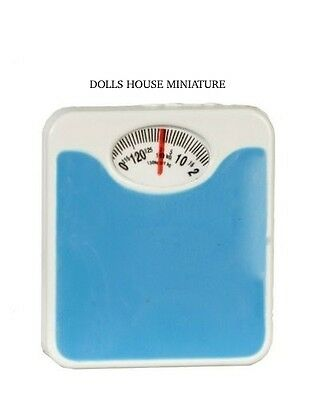 Metal Bathroom Weighing Scale Dolls House Miniatures Bathroom Accessory