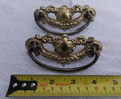 One Brass and metal Original Vintage pull