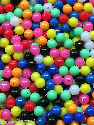 Beads for Rig Making,Round & Oval in different sizes & 12 different Colours