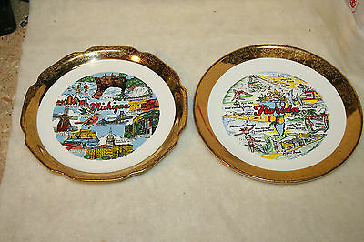 Collectible Souvenir State Collector Plates and Dishes #6