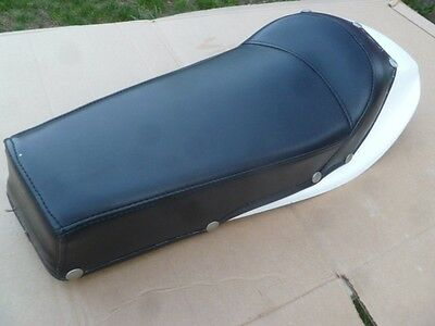 Vintage Flat Track Motorcycle Combo Seat with Fender Custom Cafe Racer New Repro