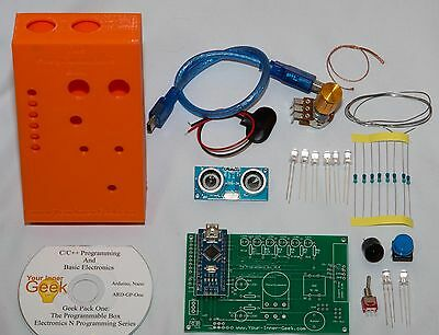 Arduino Educational Kit Programming Electronics Computer Self-Paced Home-School