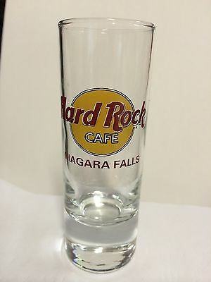 "4"" Tall Hard Rock Cafe ""Niagara Falls"" Shot Glass"