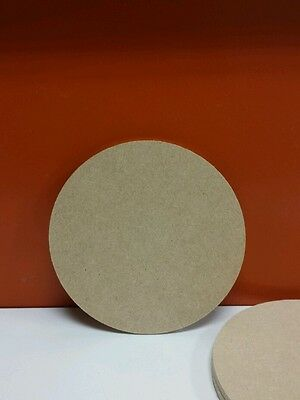 10 x Wooden Mdf Circles 4mm thick 10cm ideal for coasters