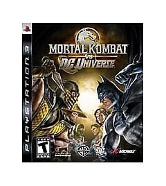 Mortal Kombat vs. DC Universe  (Sony Playstation 3, 2008)