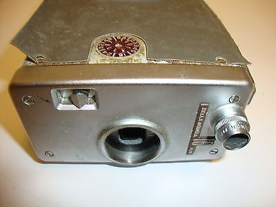 Vintage BELL & HOWELL 16mm MAGAZINE MOVIE CAMERA 200 USA PARTS ONLY AS IS