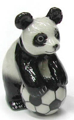 R249C - Northern Rose - Panda Standing with Soccer Ball