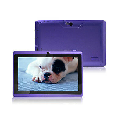 """Quad Core 7"""" Tablet PC MID 16GB A33 Google Android 4.4 KitKat WiFi Dual Camera"""