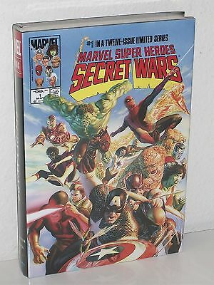 SECRET WARS OMNIBUS HC - Marvel Super Heroes - ALEX ROSS COVER - 12 Issue Series