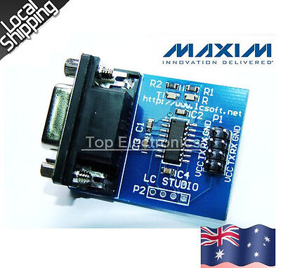MAX3232 MAX232 RS232 Serial COM 232 To TTL Converter Module+AU Local Shipping