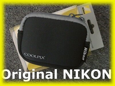Genuine NEW Nikon Coolpix Digital Camera Case Bag for Nikon Coolpix FREE Deliver