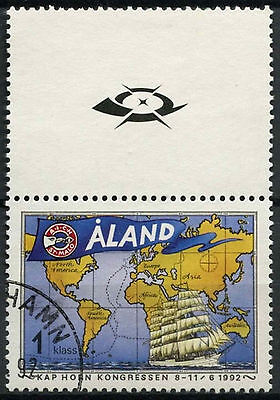 Aland Islands 1992 SG#55 Cape Horners Congress Used #A83948