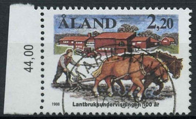 Aland Islands 1988 SG#31 Agricultural Education Used #A83909