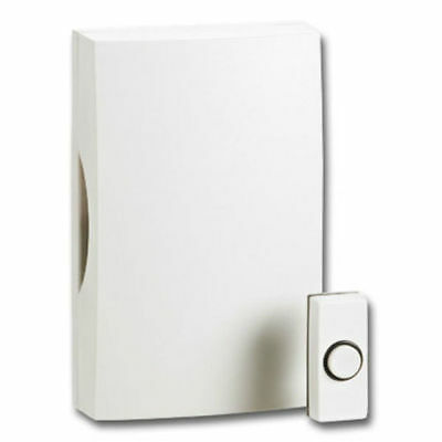 Greenbrook DHT01A-C Front Door Bell Chime Built in Transformer & Push Kit