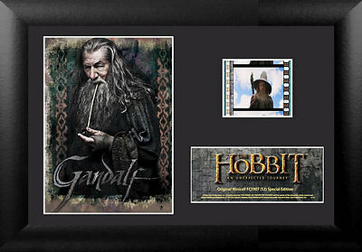 Film Cell Genuine 35mm Framed Matted Hobbit An Unexpected Journey 5907 Gandalf