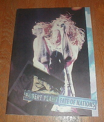 "ROBERT PLANT Orig ""Fate Of Nations"" Concert Program NM"