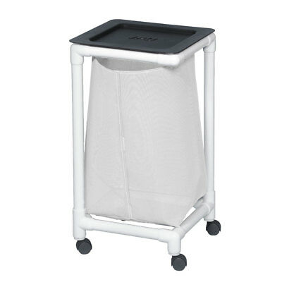 Single Linen Hamper Leakproof White                             1 EA