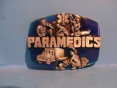 Beautiful Paramedic belt buckle Rescue Free Shipping in USA