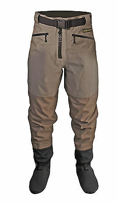 Scierra Cc3 Xp Waist Waders With Stocking Foot Waterproof  Breathable Fishing