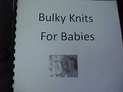 Bulky Knits For Babies - Easy to Understand Directions