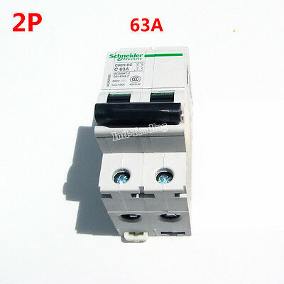 DC 63A 2P 250V C65H-DC Circuit Breaker MCB PV Solar Energy Air Switch