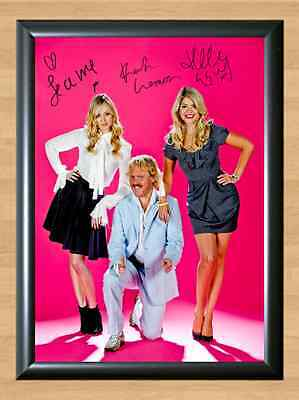 Celebrity Juice Keith Lemon Holly Fearne Signed Autographed A4 Print Poster TV