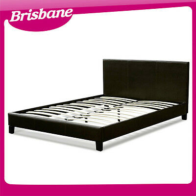 """""""QLD PICKUP"""" California Leather Bed Frame (King/Queen/Double)"""