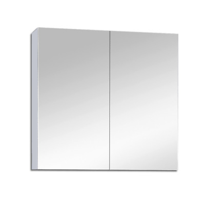 750Mm X 720Mm Bathroom Vanity Mirror Cabinet Shaving White Pencil Edge Pemc750