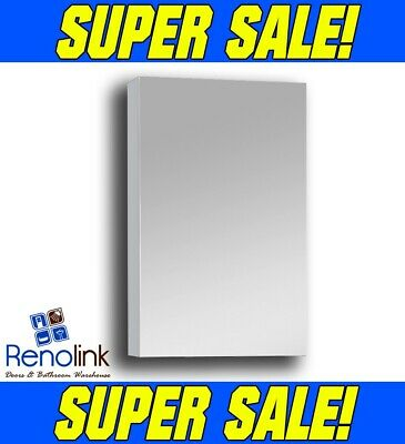 450X720X150Mm Bathroom Shaving Mirror Cabinet Polish Edge Soft Close Pemc-450