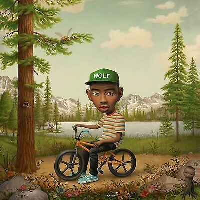 Tyler The Creator - Wolf - Deluxe 2 x Pink Vinyl LP & CD *NEW & SEALED*