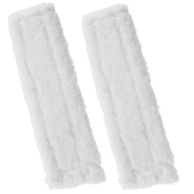 2 x KARCHER WV65 Window Vacuum Cloths Covers Spray Bottle Glass Vac Cleaner Pads