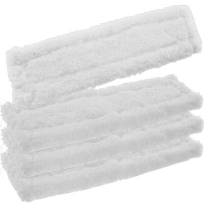 4 x KARCHER WV70 Window Vacuum Cloths Covers Spray Bottle Glass Vac Cleaner Pads