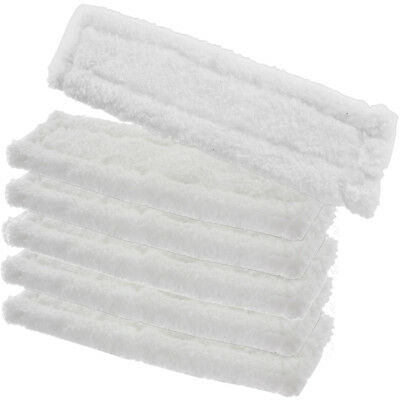 6 x KARCHER WV65 Window Vacuum Cloths Covers Spray Bottle Glass Vac Cleaner Pads